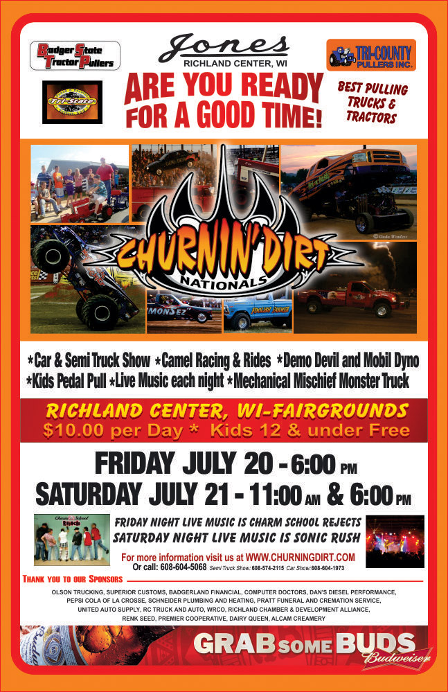 Tractor Pull | 4 Seasons of Fun-Screaming, Mayhem, Dirt, Rally